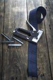 Carpentry stapler Royalty Free Stock Photo