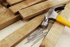 Carpentry still life Royalty Free Stock Photos