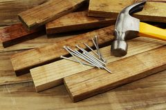 Carpentry still life Stock Photo
