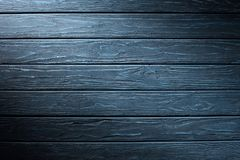 Carpentry template with cyan. Wooden planks royalty free stock photography