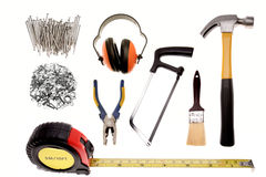 Carpentry Tools Stock Images