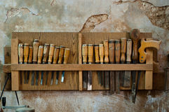 Carpentry Tools Royalty Free Stock Image