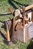 Carpentry tools Stock Image