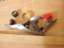 Carpentry tools Royalty Free Stock Photography