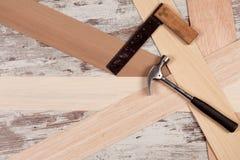 Carpentry tools Stock Photo