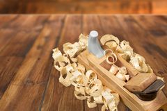 Carpentry Work Tool Royalty Free Stock Image