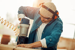 Carpentry workshop Stock Photography