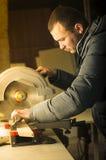 Carpentry workshop routine Stock Photos