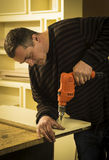 Carpentry workshop routine Stock Photography