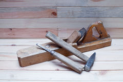 carpentryhjälpmedel Royaltyfri Foto