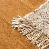 Carpet. Cotton carpet at clean home Stock Photo