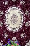 Carpet in Arab style Stock Image