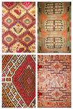 Carpet background collage Stock Photo