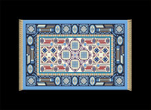 Carpet Blue Stock Images