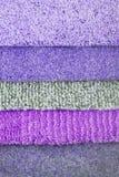Carpet choice for interior Stock Photo