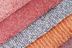 Carpet choice for interior Royalty Free Stock Images