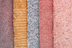 Carpet choice for interior Royalty Free Stock Photo