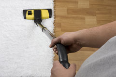 Carpet cleaning Stock Photography