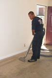 carpet cleaning Arkivbilder