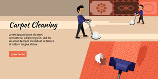 Carpet Cleaning Service Stock Images