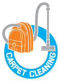 Carpet cleaning vector illustration