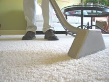 Carpet Cleaning Vacuum Stock Photo