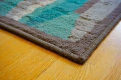 Carpet close up. Close up of a floor carpet corner in soft focus stock images