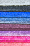 Carpet colours Stock Photography