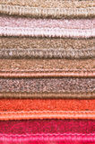Carpet colours Stock Images