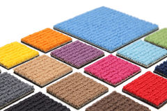 Carpet coverings Royalty Free Stock Photo