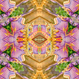 Carpet decoration pattern Stock Photography
