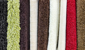 Carpet demo samples Royalty Free Stock Photography