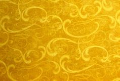 Carpet designs. Yellowish carpet designs and backgrounds Royalty Free Stock Images
