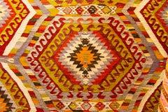Carpet. Detail of Turkish Carpet in Istanbul City royalty free stock photos