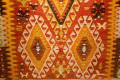 Carpet. Detail of Turkish Carpet in Istanbul City stock photos