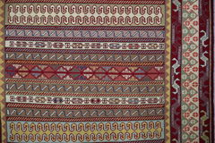 Carpet. Eastern style carpet with oriental template Royalty Free Stock Photos