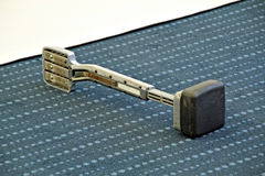 Carpet fitting tool royalty free stock photography