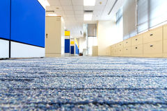 Carpet floor in office. Selected focus on carpet royalty free stock photos