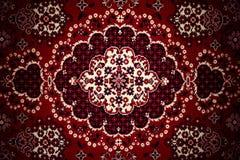 carpet gammalt Arkivfoto
