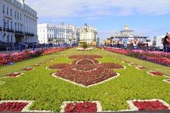 Carpet Gardens Eastbourne England Royalty Free Stock Photography