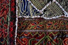 Carpet from Iran. Close up of an Iranian carpet Royalty Free Stock Image