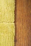 Carpet On Laminate Floor Royalty Free Stock Images