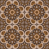 Carpet like seamless pattern. Carpet like brown seamless pattern Stock Images