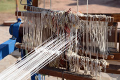 Carpet loom Stock Photo