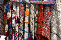 The carpet markets in Arab countries Stock Images