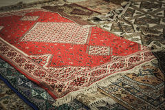 Carpet from Marocco Royalty Free Stock Photo