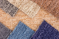 Carpet models Stock Images