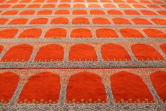 Carpet in a mosque Royalty Free Stock Images