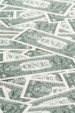 Carpet of one dollar bills Stock Photography
