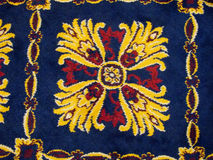 Carpet ornaments Stock Images